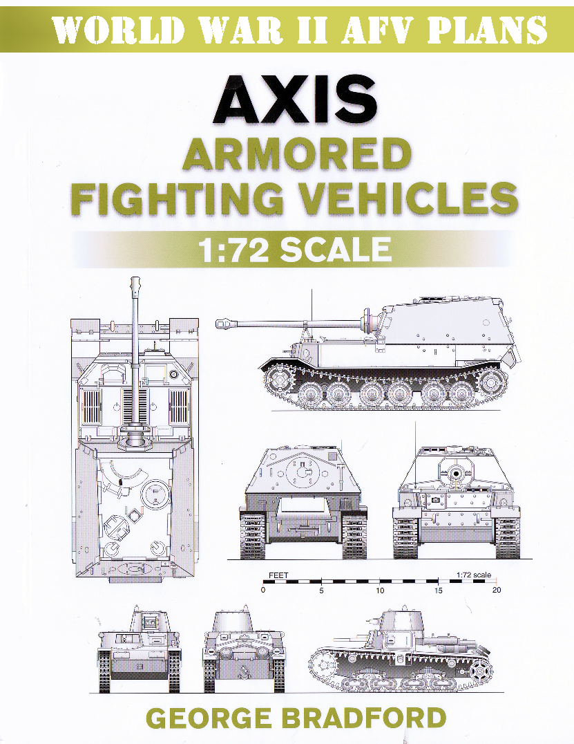 Afv Plans - Axis Armored Fighting Vehicles