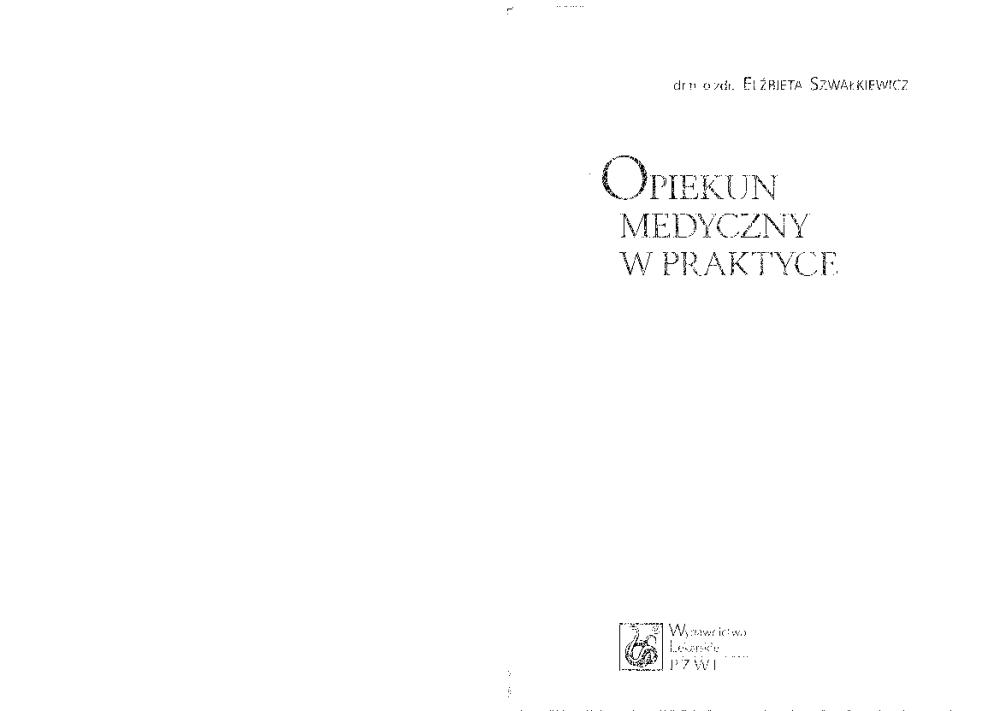 opiekun medyczny w praktyce pdf chomikuj