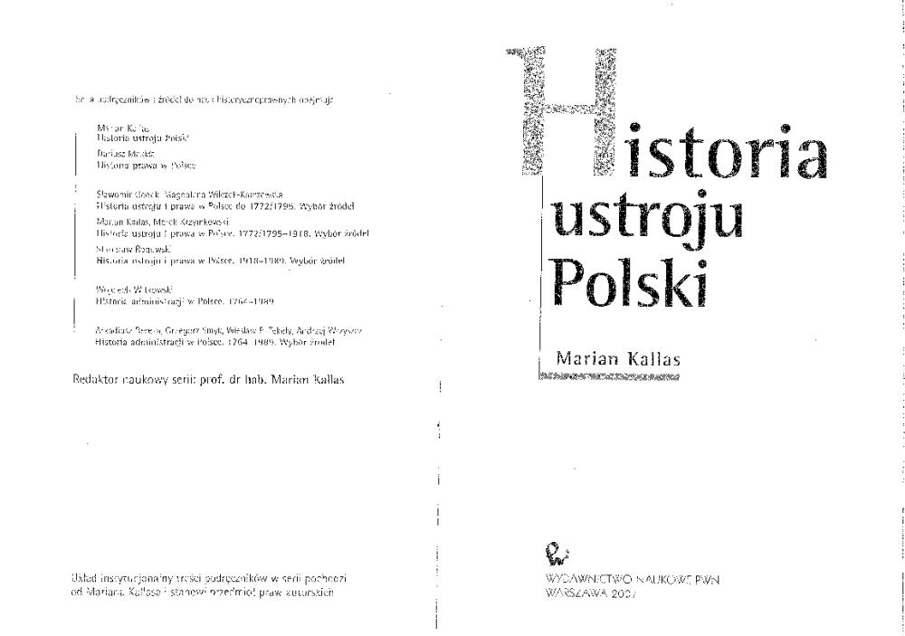 historia ustroju polski kallas pdf chomikuj