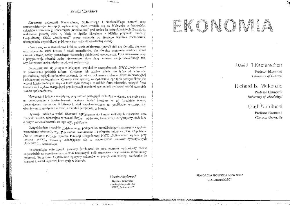 ekonomia zbiór zadań begg pdf