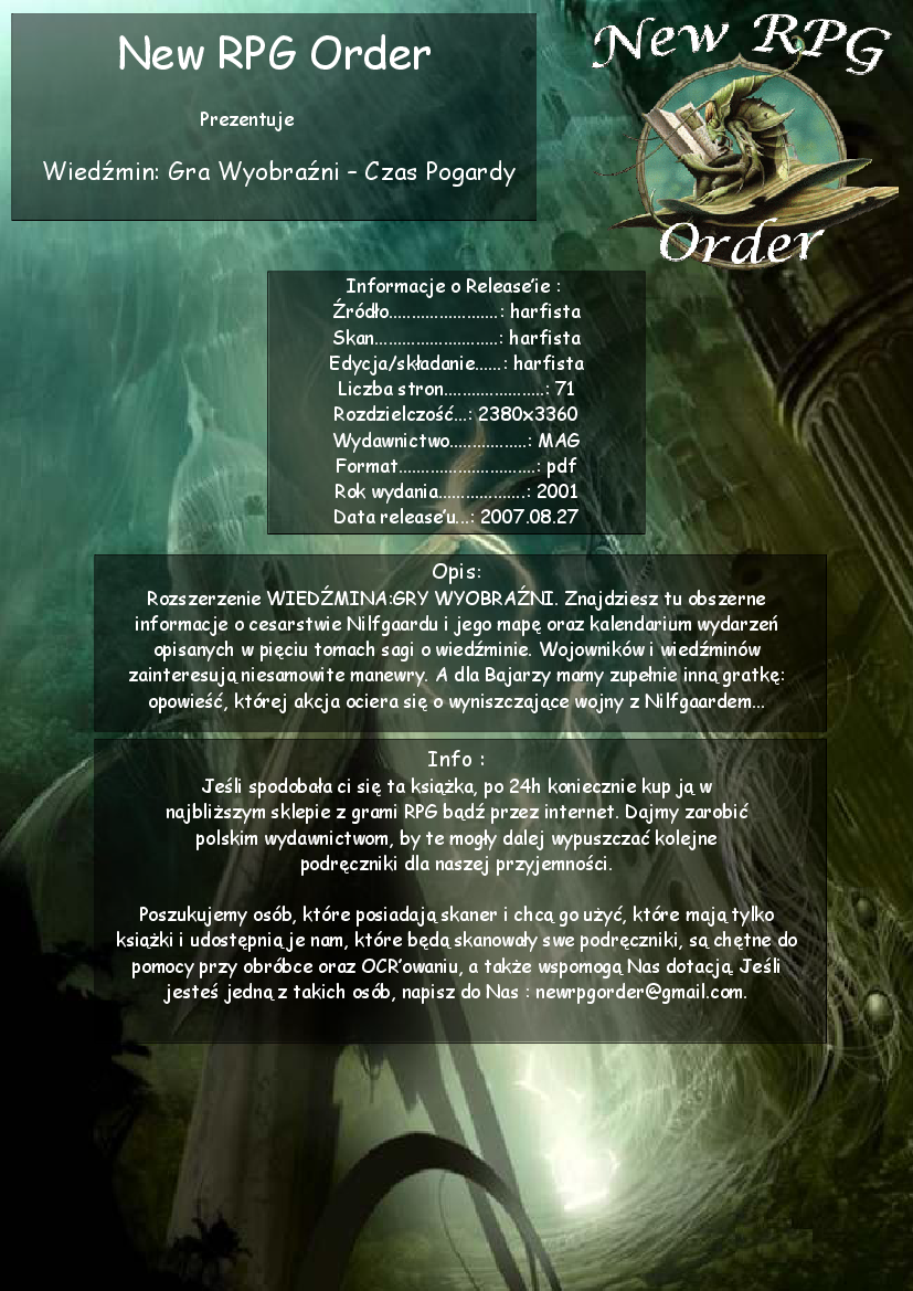 wiedźmin gra wyobraźni podręcznik pdf