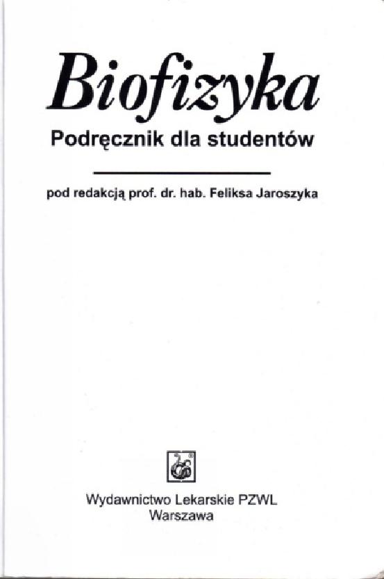 jaroszyk biofizyka pdf chomikuj