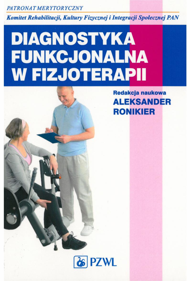 diagnostyka funkcjonalna w fizjoterapii ronikier pdf chomikuj