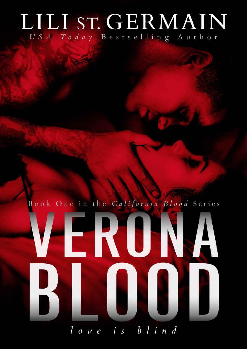 Verona Blood Lili St Germain Epub