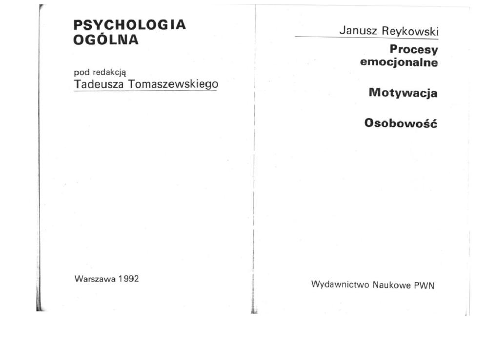 psychologia podręcznik akademicki pdf